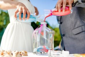 How to officiate a wedding: What is a sand ceremony?