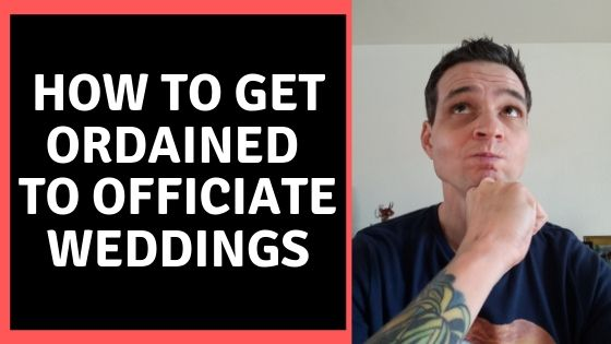 How To Get Ordained To Perform Weddings Matt S Wedding
